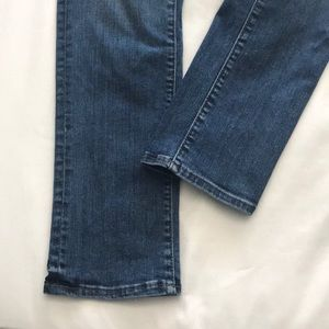 LOFT Jeans - modern straight leg denim jean, high rise